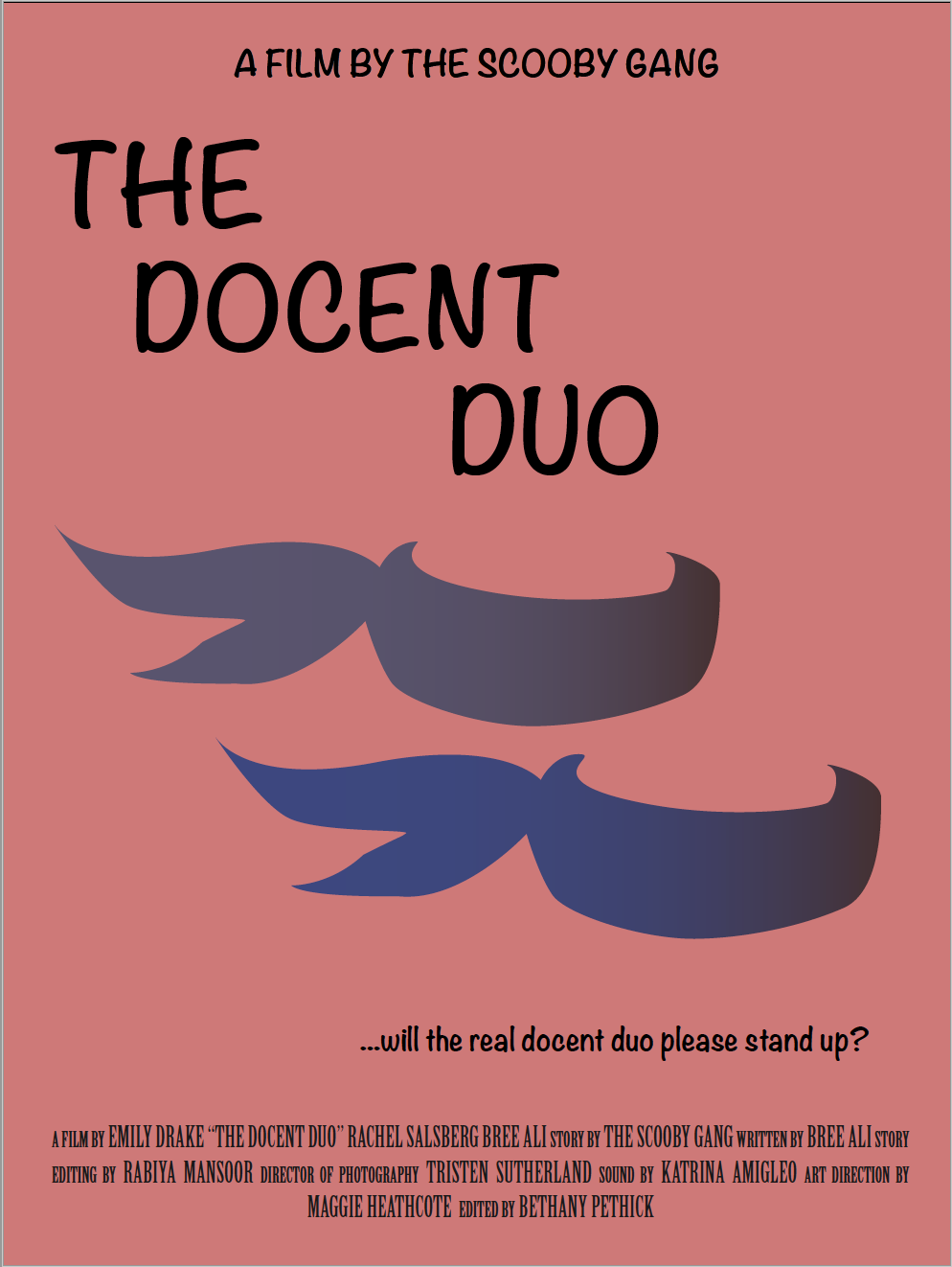 The Docent Duo poster